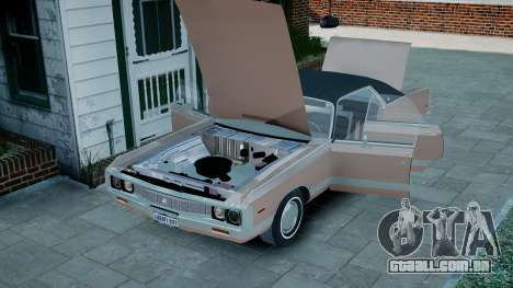 Chrysler New Yorker 1971 para GTA 4 vista interior