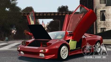 Lamborghini Diablo VT 1994 para GTA 4 vista direita