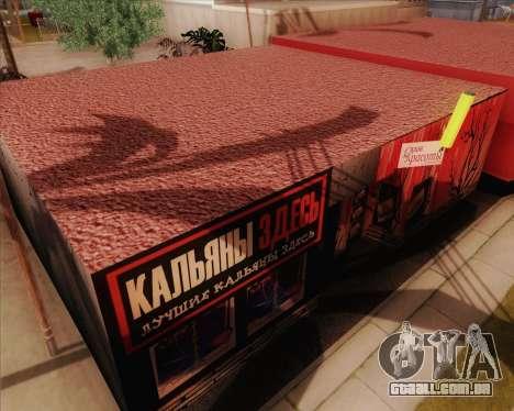 Novas texturas Binco para GTA San Andreas por diante tela