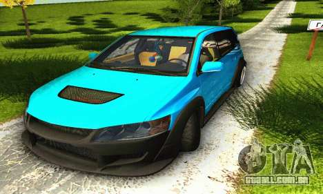 Mitsubishi Evo IX Wagon S-Tuning para GTA San Andreas