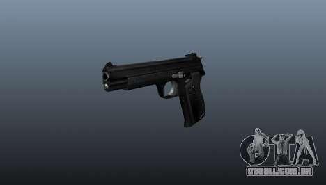 Pistola semi-automática SIG P210 para GTA 4