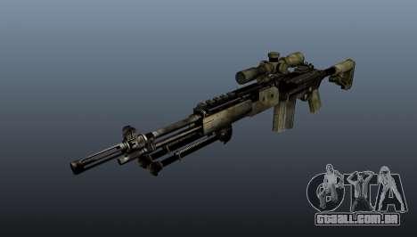 Rifle sniper M21 Mk14 v7 para GTA 4