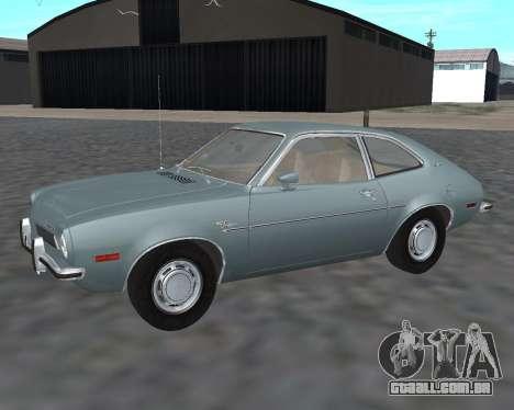 Ford Pinto 1973 para GTA San Andreas
