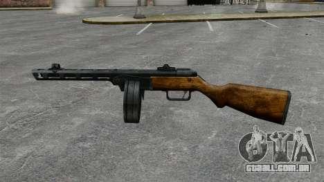 Špagina metralhadora, 1941 para GTA 4 terceira tela
