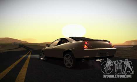 Fiat Coupe para GTA San Andreas vista inferior
