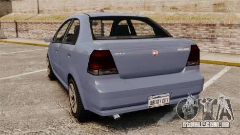GTA V Declasse Asea I500 para GTA 4 traseira esquerda vista