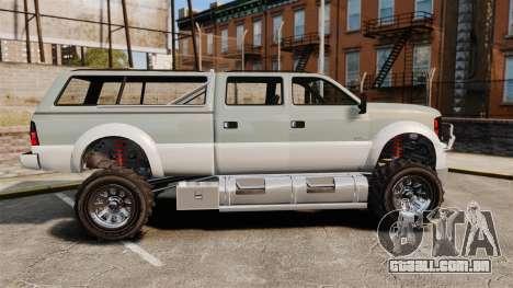 GTA V Vapid Sandking XL 4500 para GTA 4 esquerda vista