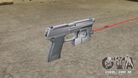 H & K MK23 Socom pistola para GTA 4 segundo screenshot