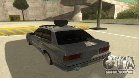 BMW E30 1991 para GTA San Andreas vista traseira