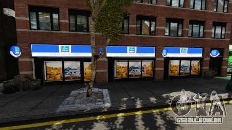 Lojas de Aldi para GTA 4