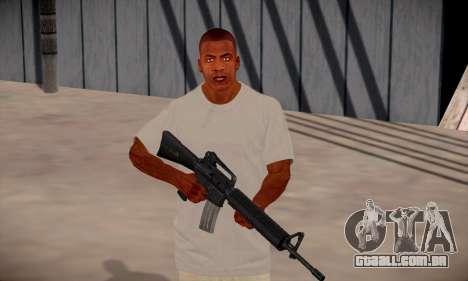 Franklin HD para GTA San Andreas sétima tela