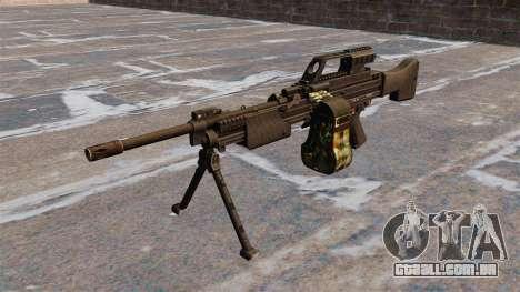 Metralhadora HK MG4 leve para GTA 4