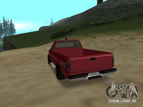 Chevrolet Silverado ATTF para GTA San Andreas vista direita
