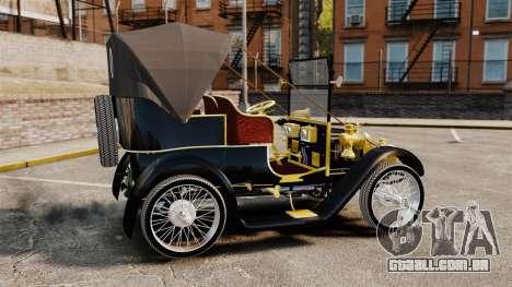 Carro antigo 1910 para GTA 4 esquerda vista