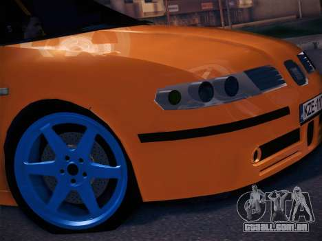 Seat Toledo Cupra R para GTA San Andreas traseira esquerda vista
