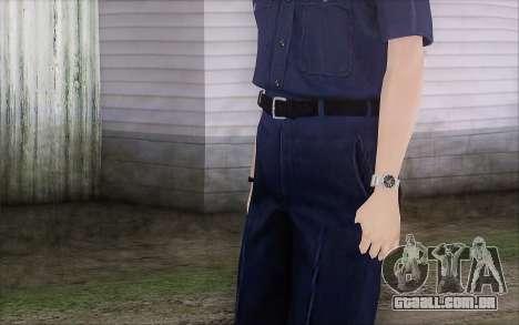 GTA 5 Police Woman para GTA San Andreas terceira tela