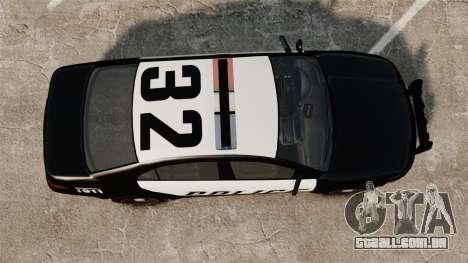 GTA V Vapid Police Interceptor para GTA 4 vista direita