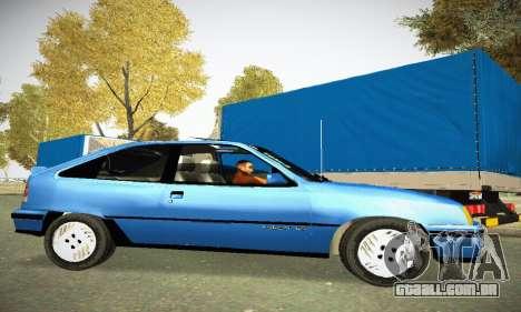Chevrolet Kadett GS 2.0 para GTA San Andreas esquerda vista