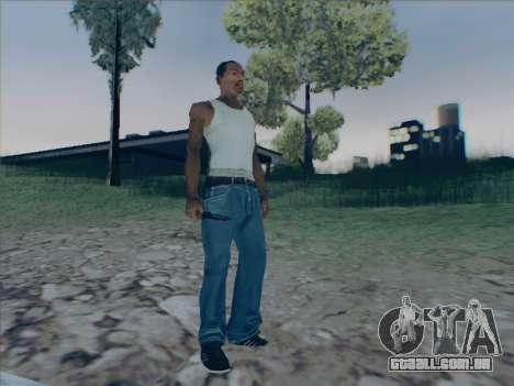 Battlefield 2142 Knife para GTA San Andreas por diante tela