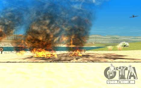 New Effects v1.0 para GTA San Andreas quinto tela