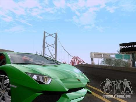 Lamborghini Aventador LP720-4 2013 para GTA San Andreas vista superior