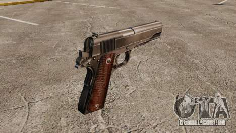 Colt M1911 pistola v4 para GTA 4 segundo screenshot