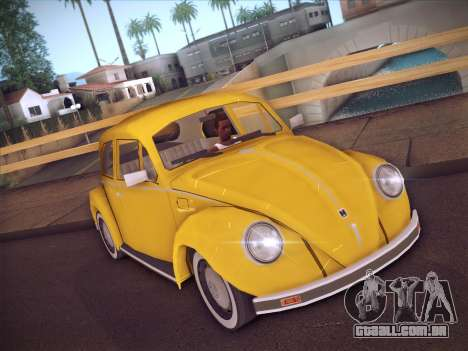 Volkswagen Käfer para GTA San Andreas esquerda vista
