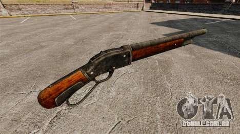 O Winchester modelo 1887 espingarda v 2.0 para GTA 4 segundo screenshot