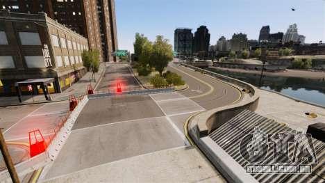 Liberty City Race Track para GTA 4 sexto tela