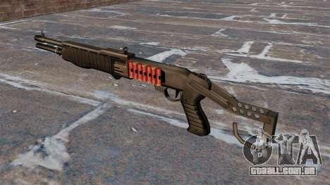 Franchi SPAS-12 shotgun Armageddon v 2.0 para GTA 4 segundo screenshot