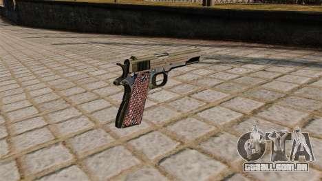 Colt M1911A1 pistola para GTA 4 segundo screenshot