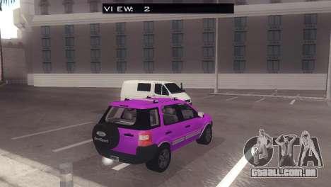Ford EcoSport V2 para GTA San Andreas vista direita