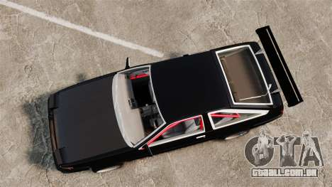 Toyota Sprinter Trueno AE86 Drifting para GTA 4 vista direita