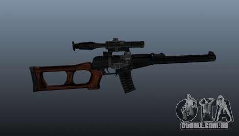 Fuzil de precisão VSS Vintorez para GTA 4 terceira tela