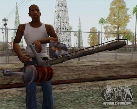 Lança-chamas novo para GTA San Andreas terceira tela