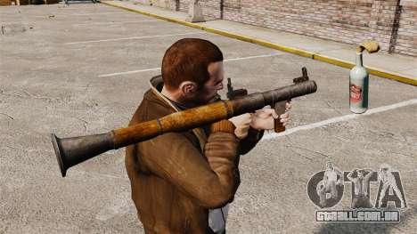Lançador de granadas anti-tanque, Molotov para GTA 4