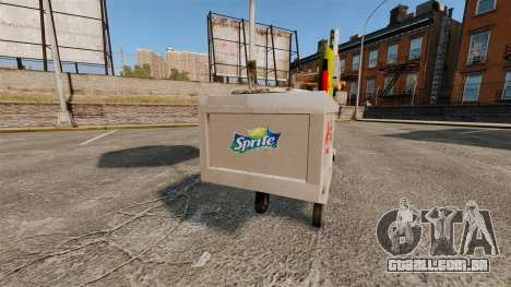 Novas texturas de carrinhos de cachorro-quente para GTA 4 terceira tela