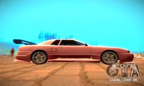 Elegy Hybrid para GTA San Andreas vista direita