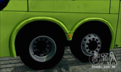 Marcopolo Paradiso G6 Tur-Bus para GTA San Andreas traseira esquerda vista