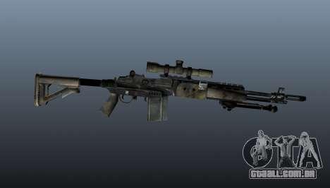 Rifle sniper M21 Mk14 v4 para GTA 4 terceira tela