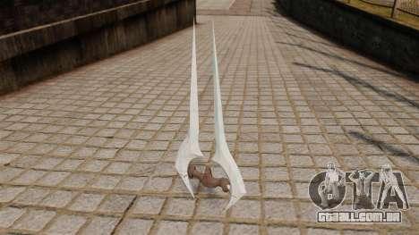 Espada de energia Halo para GTA 4 segundo screenshot