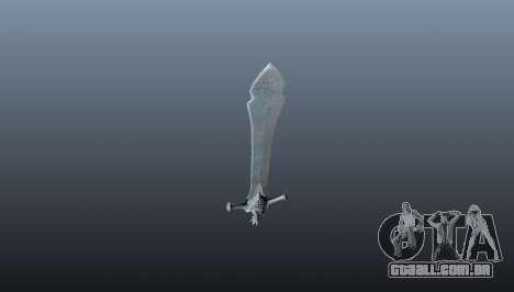 Espada da rebelião para GTA 4 segundo screenshot