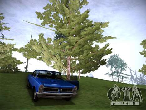 Playable ENB by Pablo Rosetti para GTA San Andreas por diante tela