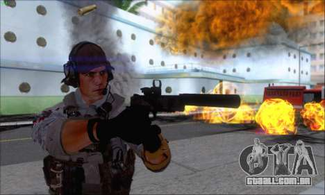 Engineer of Battlefield 4 para GTA San Andreas