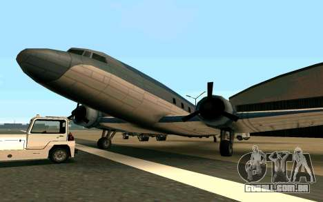 Um avião dos Estados Unidos para GTA San Andreas