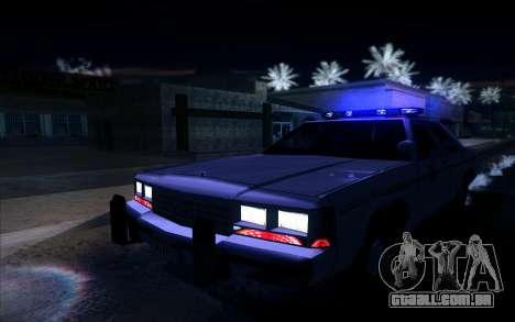 Police North Yankton para GTA San Andreas vista traseira