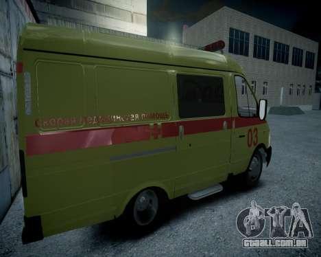 Gazela 2705 reanimação v 1.0 para GTA 4 vista direita