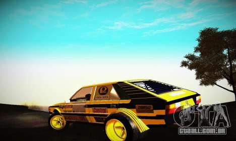 FSO Polonez 2500 Racing 1978 para GTA San Andreas traseira esquerda vista