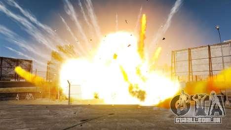Novos efeitos da explosão e incêndio para GTA 4