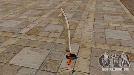 Espada de duas mãos para GTA 4